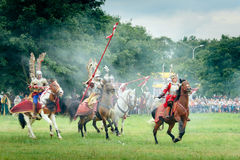 Hussars Charge Stock Photos