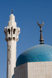 hussein μουσουλμανικό τέμενο&sigm Στοκ Φωτογραφίες