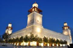 hussein królewiątka meczet s fotografia stock