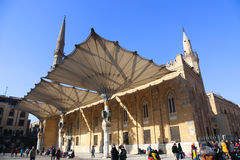 Hussein Mosque - Fatimid Cairo Royalty Free Stock Photography
