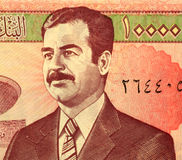 hussein saddam Photos stock