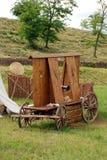 Hussite-Kriegskampfwagen Lizenzfreies Stockbild