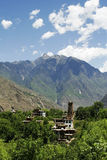 husstil tibet royaltyfri foto