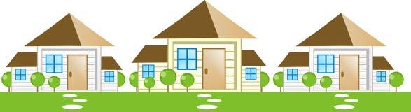 hussymbol vektor illustrationer