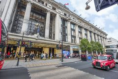 At Oxford street Royalty Free Stock Images