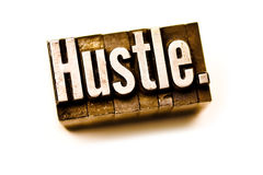 Hustle Royalty Free Stock Photography