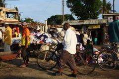 hustling mombasa Royaltyfria Bilder