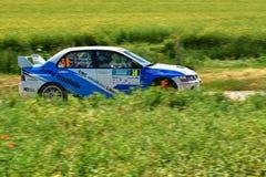 Hustopece, República Checa 18 de junho de 2016 Reagrupe o carro Imagens de Stock