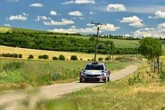 Hustopece, Tschechische Republik am 18. Juni 2016 Sammeln Sie Auto Lizenzfreies Stockfoto