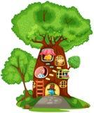 hustree stock illustrationer