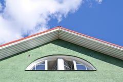 husväggfönster Fotografering för Bildbyråer