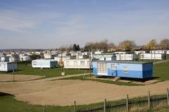 husvagnpark Arkivfoto