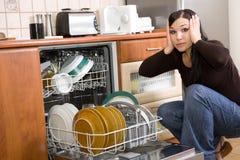 husworking Fotografering för Bildbyråer