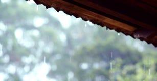 Husyttersida i efter regn Royaltyfria Foton