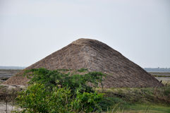 Hut. A large hut stored in salt and packed well Stock Images