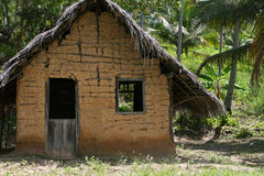 The hut. A typical hut from northeast of Brazil Stock Photos