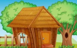Hut stock illustration