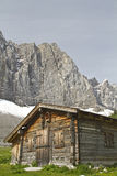 Hut in Austria Royalty Free Stock Photography