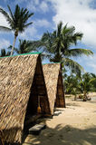Hut on the beach Royalty Free Stock Image