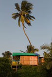 Hut on the Beach Royalty Free Stock Photos