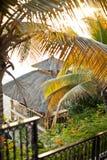 Hut on the beach Saint Maarten Royalty Free Stock Photo