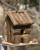Hut for birds Royalty Free Stock Image