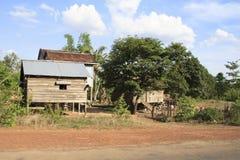 Hut in Cambodia Stock Photos