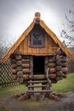 Hut on Chicken Legs Stock Images