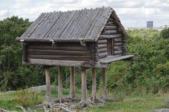 Hut on chicken legs Royalty Free Stock Photo