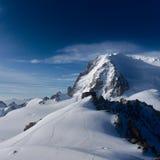 Hut Cosmiques in Chamonix Royalty-vrije Stock Foto's