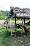Hut in countryside, Thailand Royalty Free Stock Photo