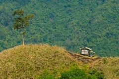 Hut in de vallei Royalty-vrije Stock Foto