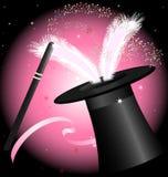 Hut der schwarzen Magie Stockbild
