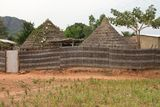 Hut in Dindefelo. Hut  Senegal Africa Travel Architecture Royalty Free Stock Images
