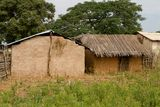 Hut in Dindefelo. Hut  Senegal Africa Travel Architecture Royalty Free Stock Image