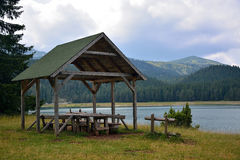 Hut - Durmitor Royalty Free Stock Images