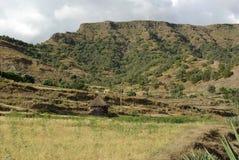 Hut in Ethiopia Royalty Free Stock Photos