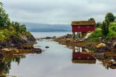 Hut of a fisherman. Royalty Free Stock Photo