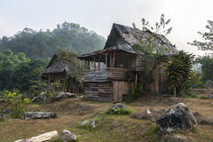 Hut in the forest. Doi Inthanon National Park Thailand Stock Image