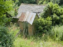 Hut in France Royalty Free Stock Photo