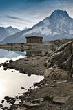 Hut in the French Alps Royalty Free Stock Photo