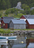 Hut.GN de pesca pequeno imagens de stock royalty free