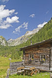 Hut in the High Tauern Royalty Free Stock Images