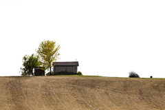 Hut on the hill Royalty Free Stock Photography