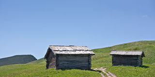 hut idyll Royalty Free Stock Photography