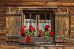 Hut idyll Stock Photo