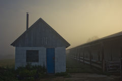 Hut im Nebel Lizenzfreies Stockbild