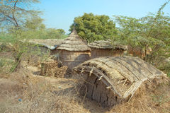 Hut in india royalty free stock images