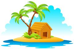 Hut in Island Stock Images