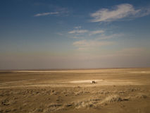 Hut in Maranjab Desert Stock Photography